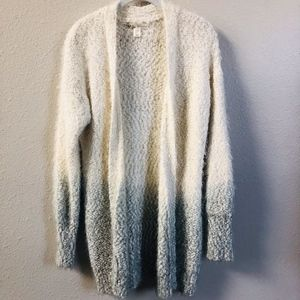Kaisely Beautiful Long Eyelash Sweater Cardigan